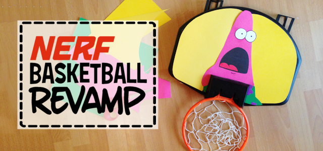 Nerf Basketball Makeover
