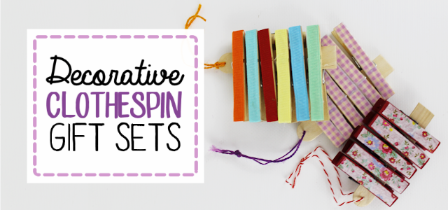 Decorative Gift Sets : Clothespin Crafts
