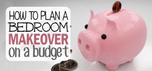 Don't think you need to have big bucks to do a stunning bedroom makeover! In this series we'll show you the steps to inexpensively transform your bedroom.