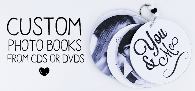 DIY Custom Photo Books from CDs