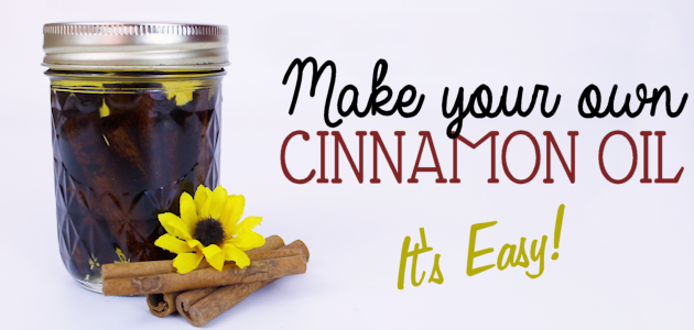 It's Easy to Make Cinnamon Oil!