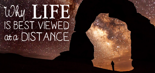 The Thing About Life : Why It's Best Viewed at a Distance