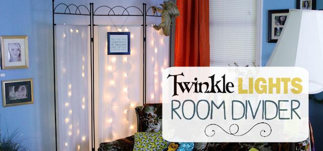 Twinkle Lights Room Divider