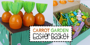 Carrot Garden DIY Easter Basket