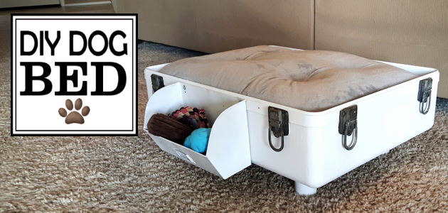How to Make a DIY Dog Bed from a Suitcase