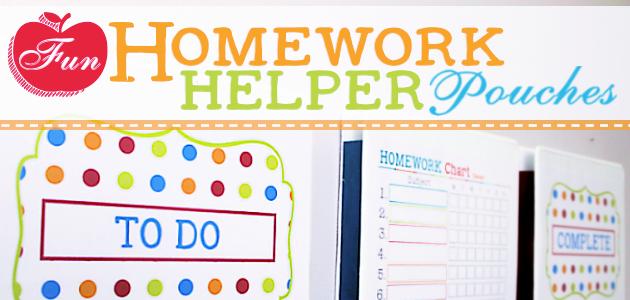 How to Make Fun Homework Helper Wall Pockets from 3 Ring Binders