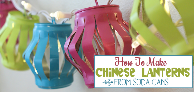 How to Make Chinese Lanterns For Ambient Light Day or Night