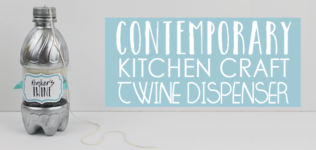 Contemporary Kitchen Craft Series : Baker's Twine Dispenser