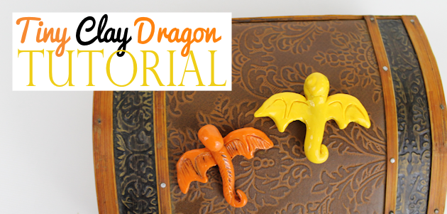 How to Make the Cutest Little Clay Dragon