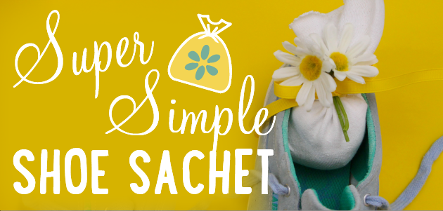Get Rid of Smelly Shoes with No-Sew Simple DIY Sachets!