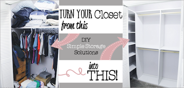 How to Build Closet Shelves & Organizers