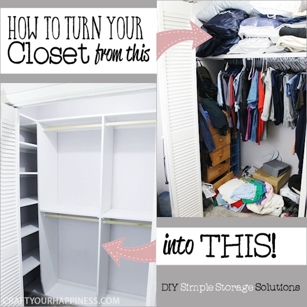 Could Your Closet Use A Little More Space And Organizing? Weu0027ll Show You