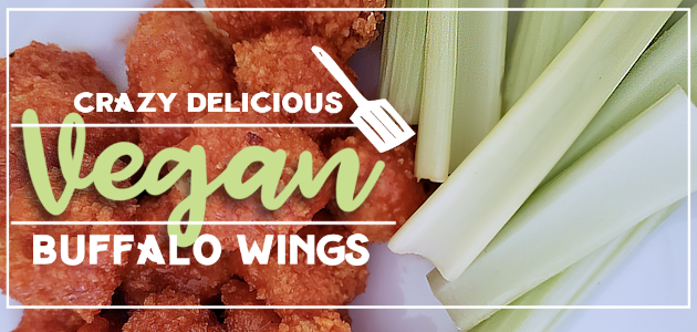 These crazy delicious vegan buffalo wings will be the hit of any party or meal! They can be served as an appetizer or as the main dish with rice, noodles and veggies of choice. They are healthy and low fat. The secret ingredient? Cauliflower!
