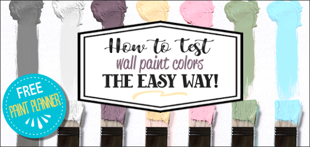 Easy Trick to Choose Paint Color for Your Walls!