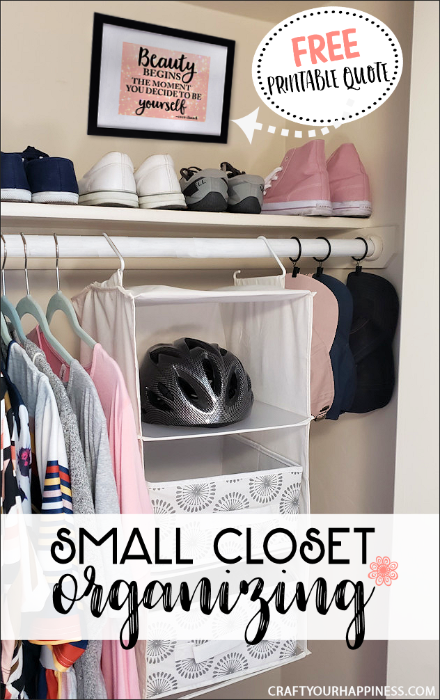 If you're someone blessed with a closet that just too tiny, we've got a few small closet organizing ideas to help make the most of your space.