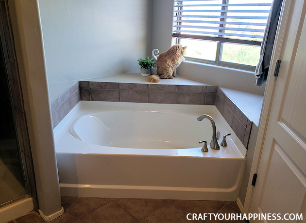 If you have a bathtub or garden tub you don't use often, learn how to increase your space by making a beautiful inexpensive removable wood bathtub cover. Can be used on a temporary basis or permanent one.