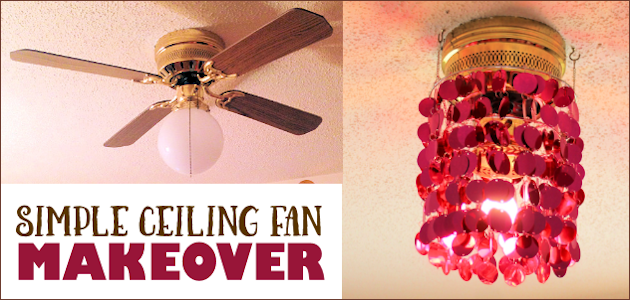 Simple Ceiling Fan Makeover FE