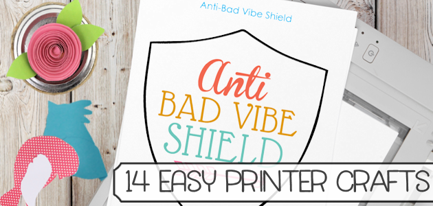14 Easy Crafts You Can Do Using a Printer