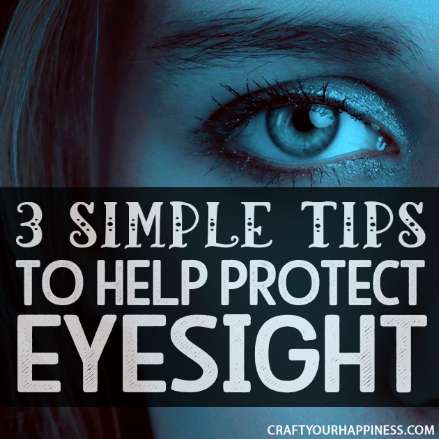 You need to protect your eyesight as you get older. Prevention is best but here are three natural ways that can help and possibly improve your eyesight.