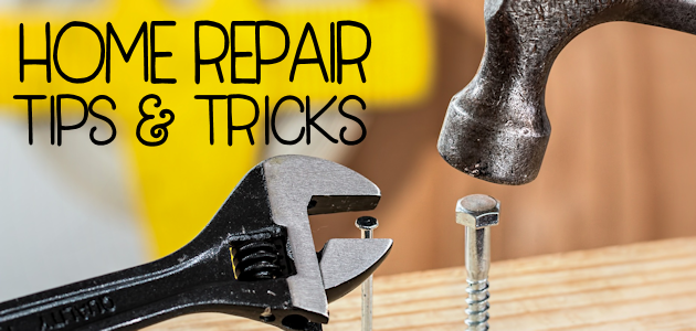 This post has a few home repair tips and ideas to fix problems found on your property or around the house. Many can be done yourself and need little skill!
