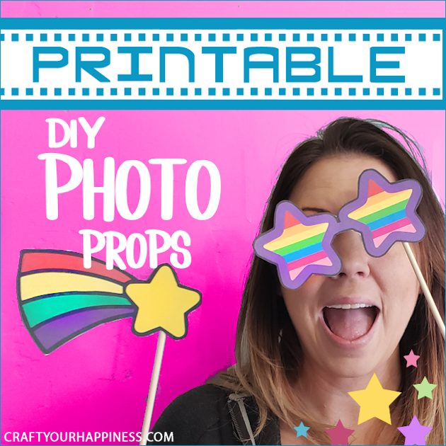 Simple Diy Photo Booth Props Printables