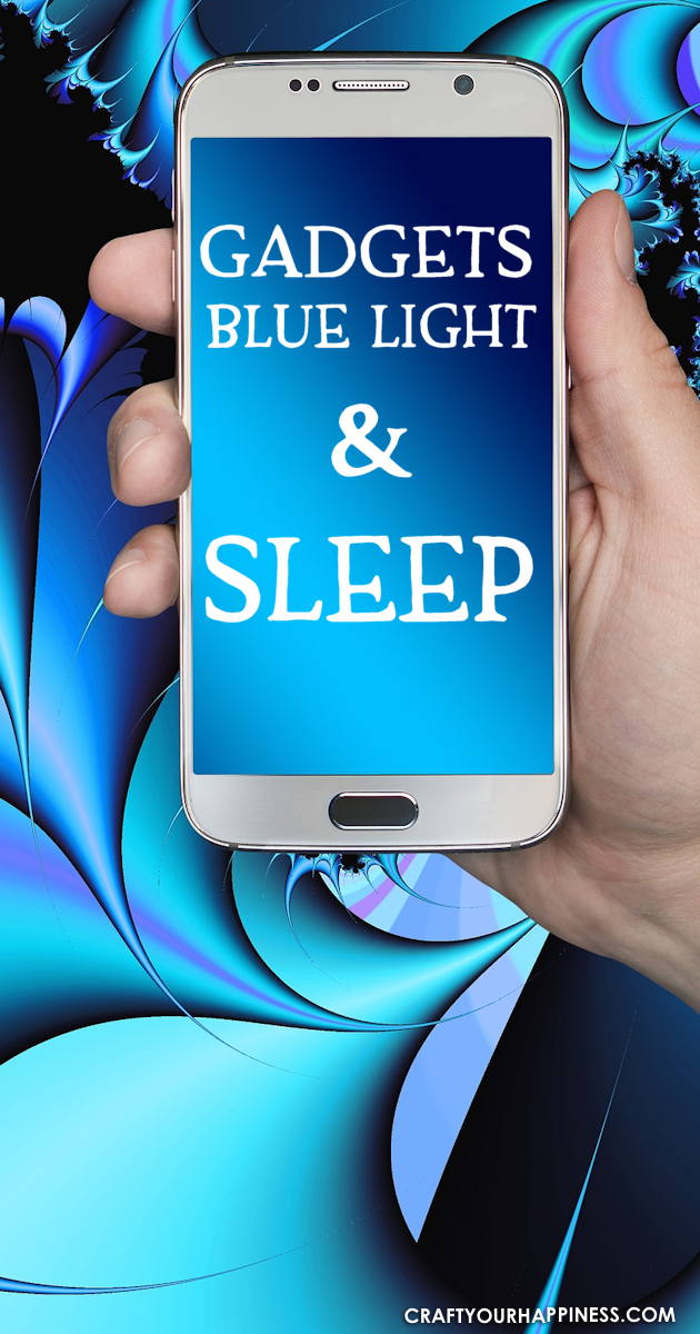 Gadgets are a big part of our lives. Learn about Blue Light and it's Effect on Sleep and things you can do to assure a good nights rest.