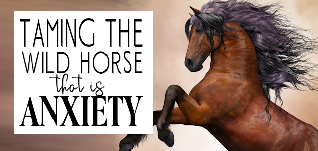 Taming the Wild Horse that is Anxiety