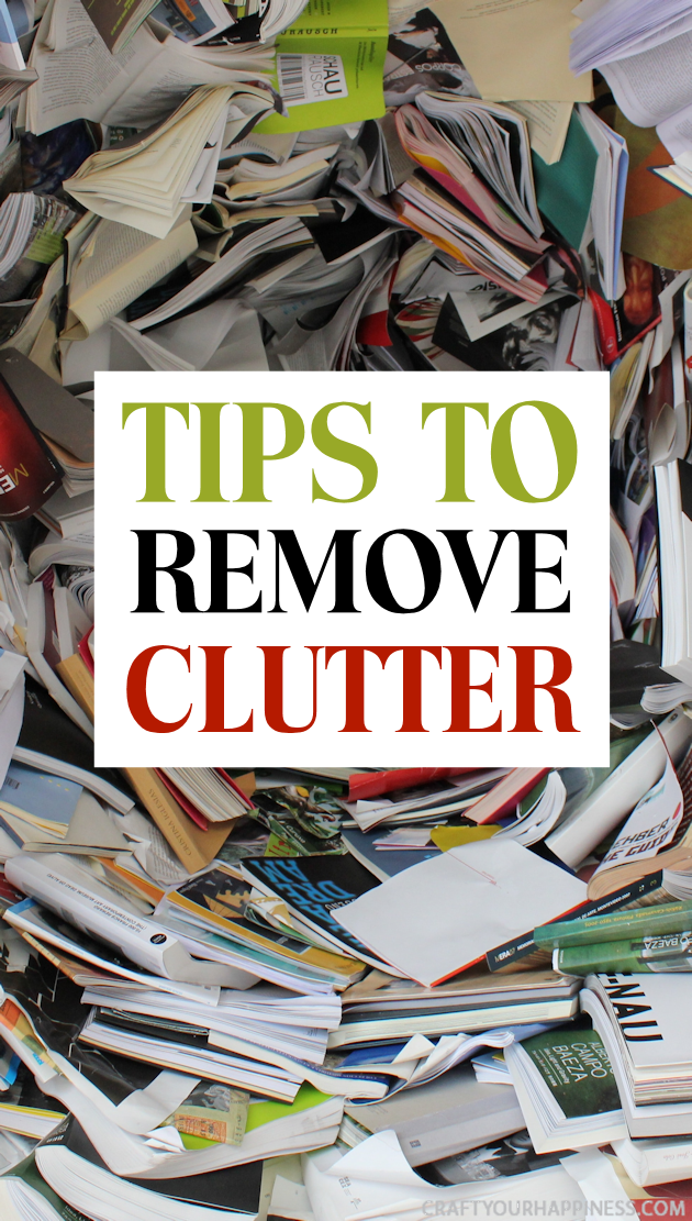 It's been proven that messy surroundings effect people mentally. Check out our tips to help you remove clutter and make your home a more peaceful place.