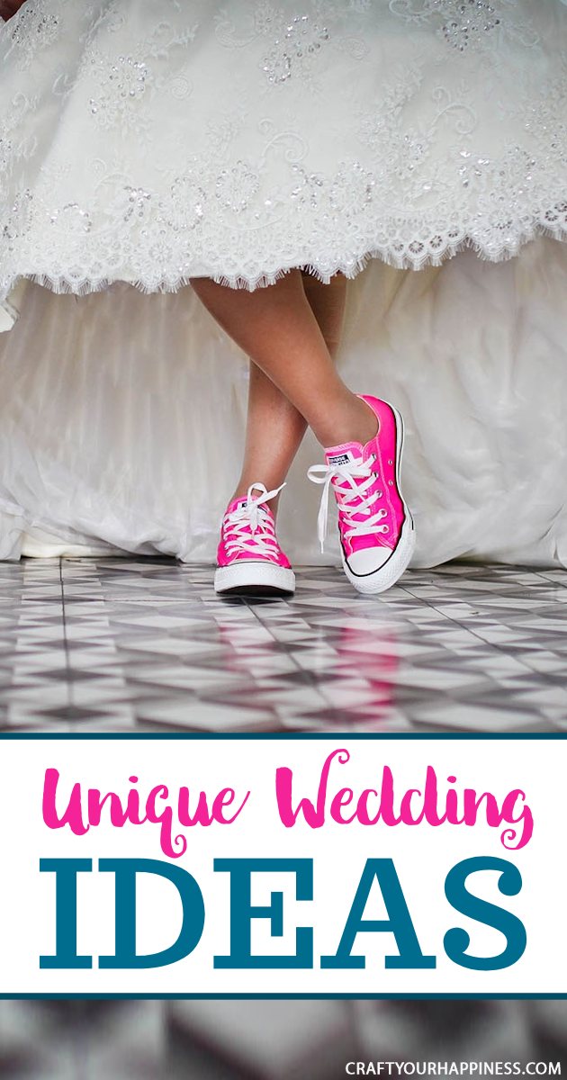 Make memories and celebrate love on your special day to last a lifetime with personal touches using some of our unique wedding ideas!