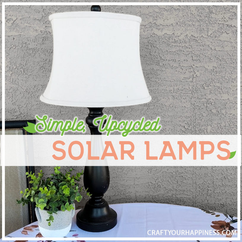 Simple Upcycled Diy Solar Light