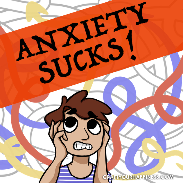 Anxiety Sucks! That tightness in the chest. A dizzy feeling. Stomach pains etc. Learn some tips and tricks to stop anxiety from dominating your life!