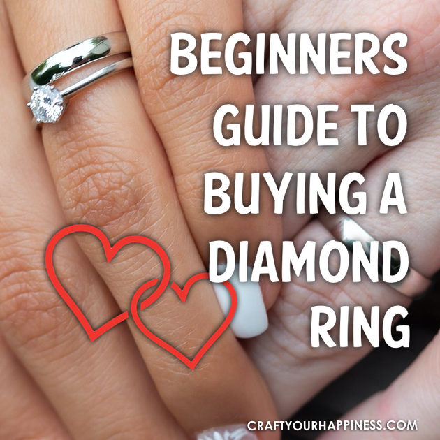 Check out our great Guide To Buying a Diamond Ring. Don't know a lot about diamonds? Have a low budget? Our tips and infographic will help!