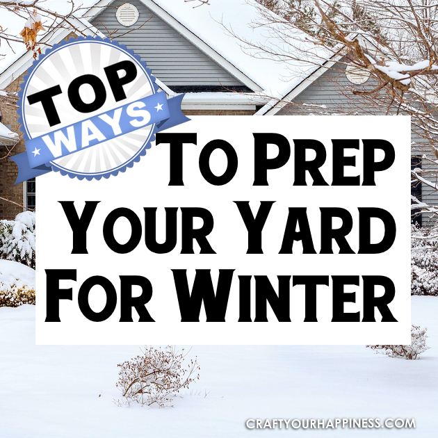 Cold weather reaches most of us and if you have a yard it needs some special care. Read our great tips on how to prep your yard for winter!