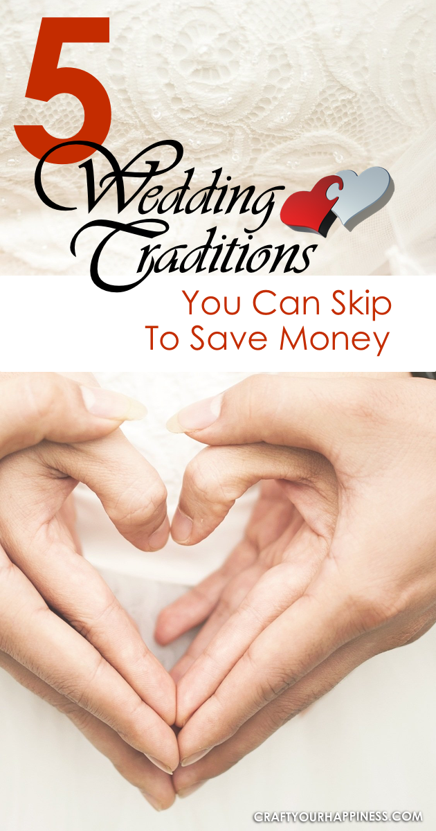 Weddings are very traditional events and almost everyone sticks to a similar format. Check out our wedding tips that can save you money on this special day!