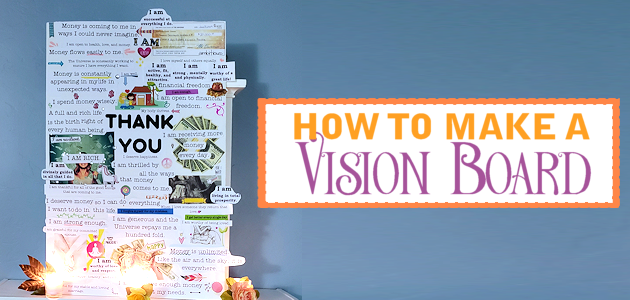 Learn how to make a vision board which is a fun creative way to assist in your goals and dreams. You could host a Vision Board Party with family or friends!