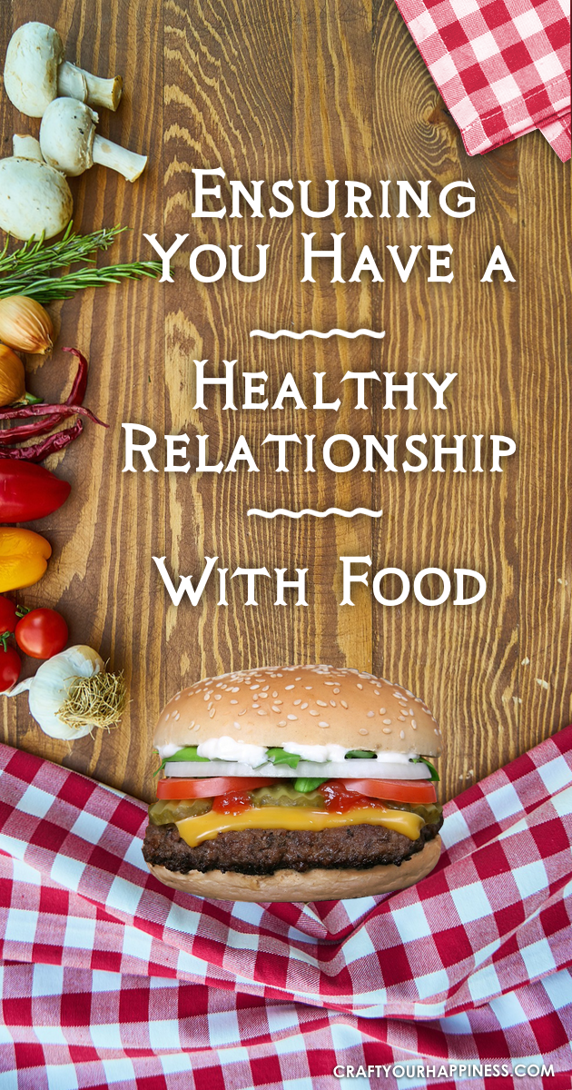 Your relationship with food is important because it gives your body the nutrients it needs to thrive. Learn how to make that relationship is a healthy one!