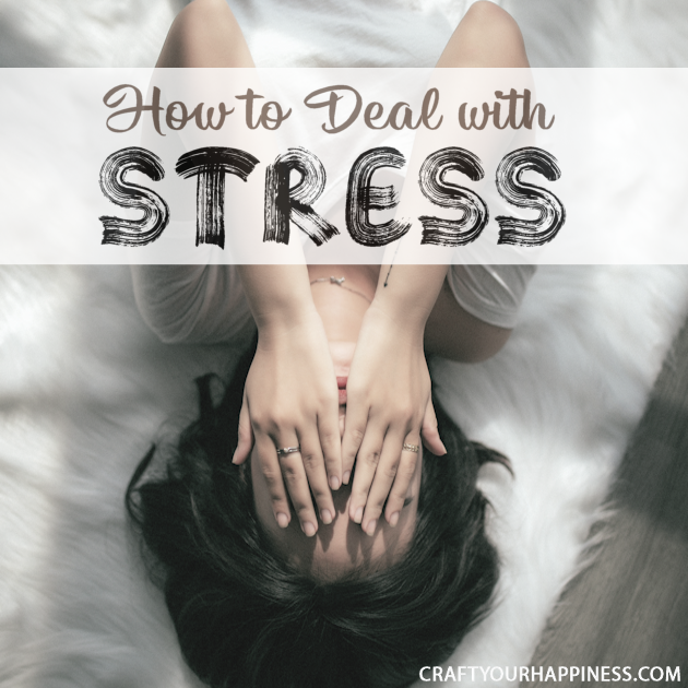 Pointers on how to deal with stress
