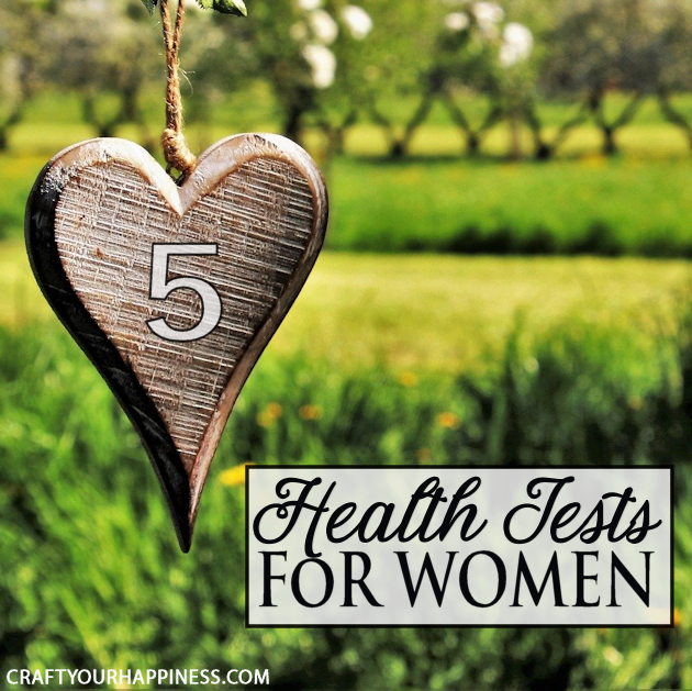Women of all ages need to take responsibility for their health. Here are 5 health tests for woman that can help screen for possible common conditions.