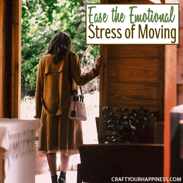 While exciting, moving away from your home can be difficult for many reasons. Learn how to ease the emotional stress of moving.