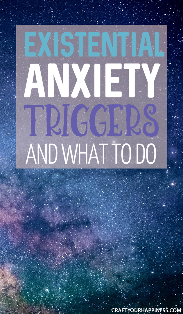 Existential anxiety is anxiety caused by the basic things that allow us to exist such as money, compantionship, meaning and purpose. Learn about Existential Anxiety Triggers and What Can Help.