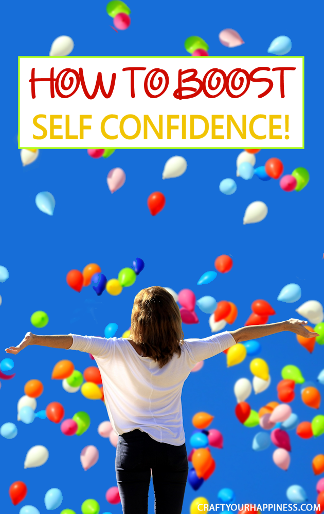 Nothing empowers you more and shows others who you really are than feeling good about yourself. Learn some simple ways on how to boost your self confidence!