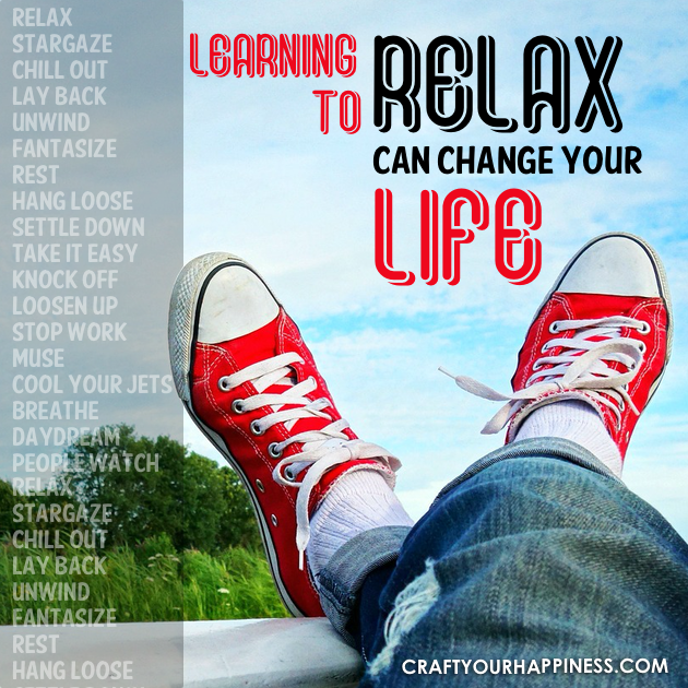 Learning to Relax Can Change Your Life. It's universally accepted that stress is the cause of many diseases and exacerbates problems you have. Relaxing can help!