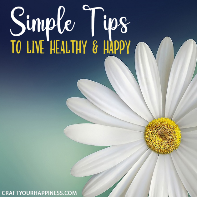 Sometimes small things can make a big difference! Our bodies are incredibly forgiving so check out or simple tips to live healthy and happy.