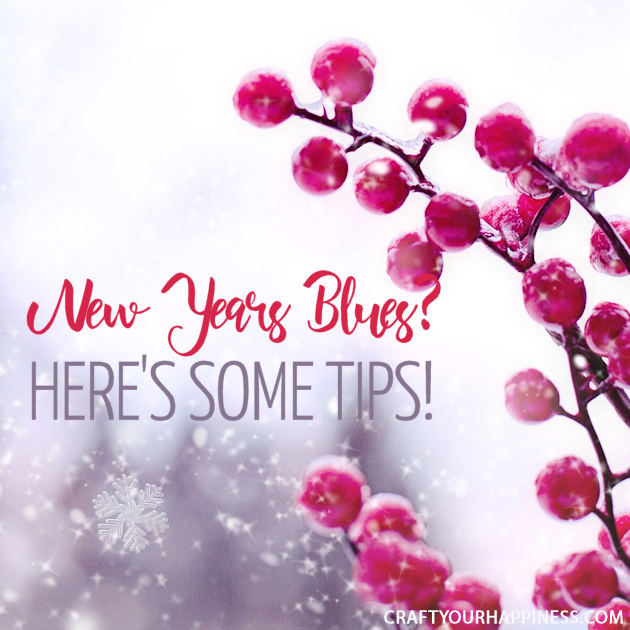 Though many find a new year exciting and filled with new possibilities, many experience the opposite affect. Learn some helps for the New Year blues!