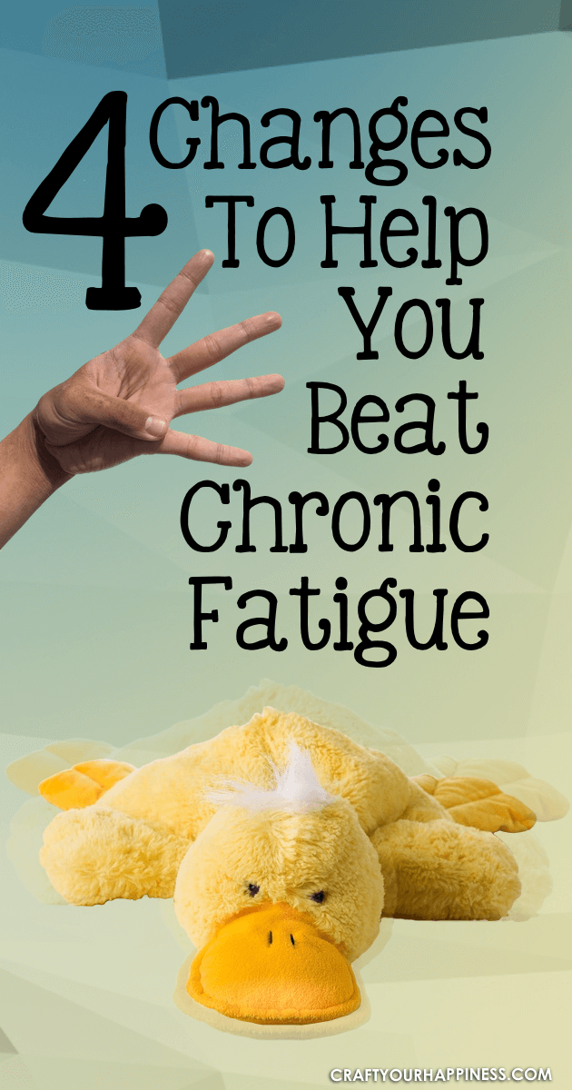 Chronic fatigue is a common health problem that often gets ignored but is life altering. These 4 lifestyle changes can help.
