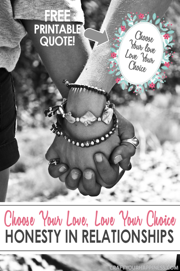 No matter you lifestyle choice in a relationship or marriage the key is honesty and integrity with those we love the most.