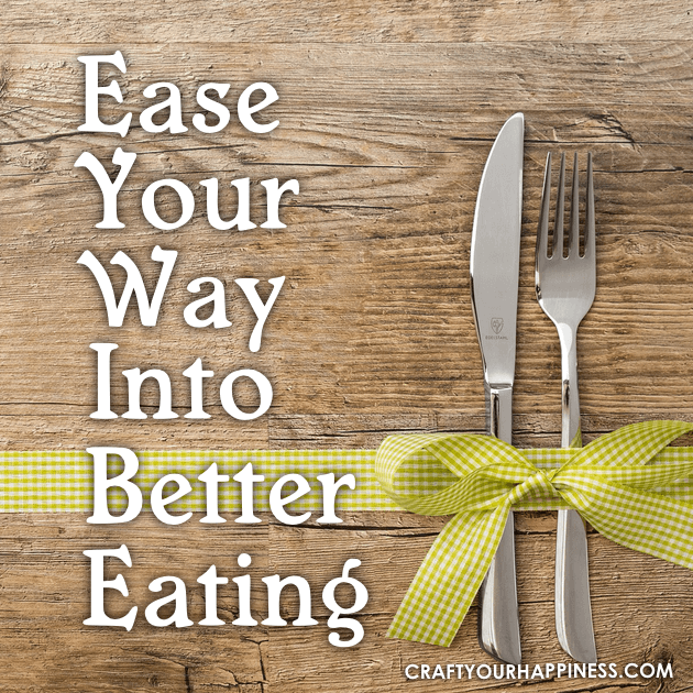Better eating is simple when you ease your way into it. A plant based diet can prevent and help many health conditions. Small changes make a difference!