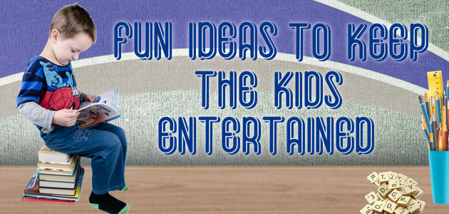 In the 21st century there are a lot of options to entertain kids but much lack the imagination and physical activity so needed by kids. Check out our fun ideas to keep kids entertained.