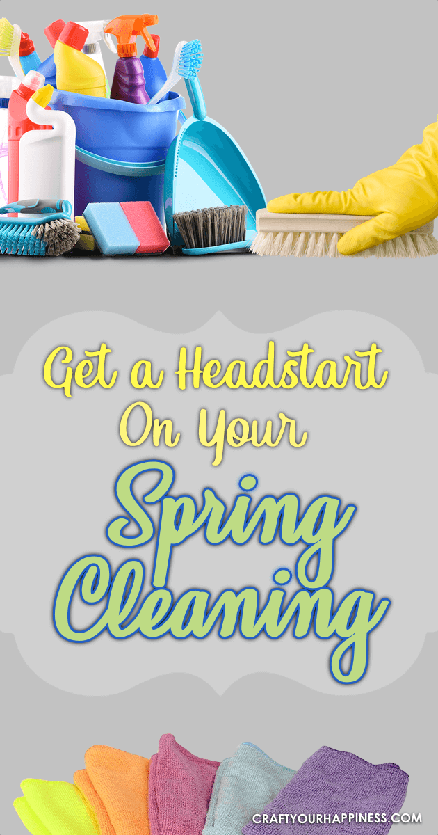 Nothing feels better than a clean and organized home. Check out our great ideas for getting a head start on your spring cleaning.