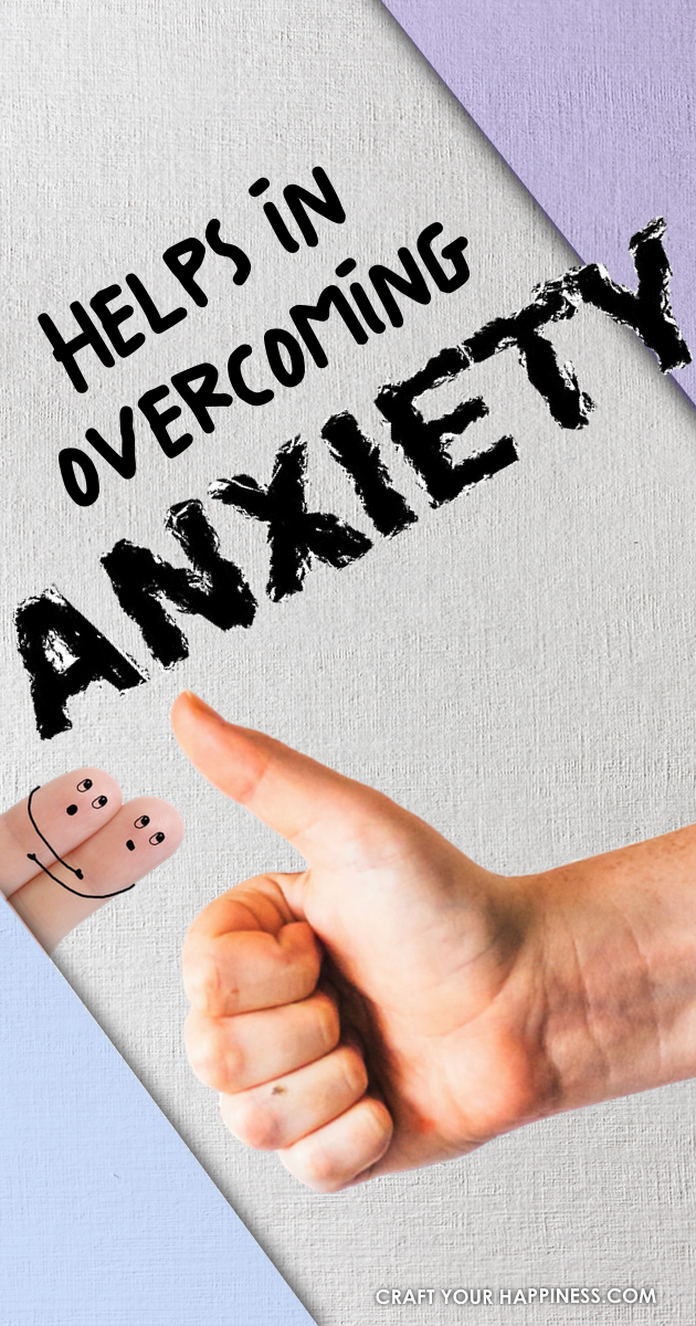 Anxiety is a common problem for many people of all ages. Here are a few tips and helps in overcoming anxiety once and for all.